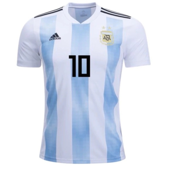 b0e4b6422 Argentina National Team Adidas Lionel Messi Jersey